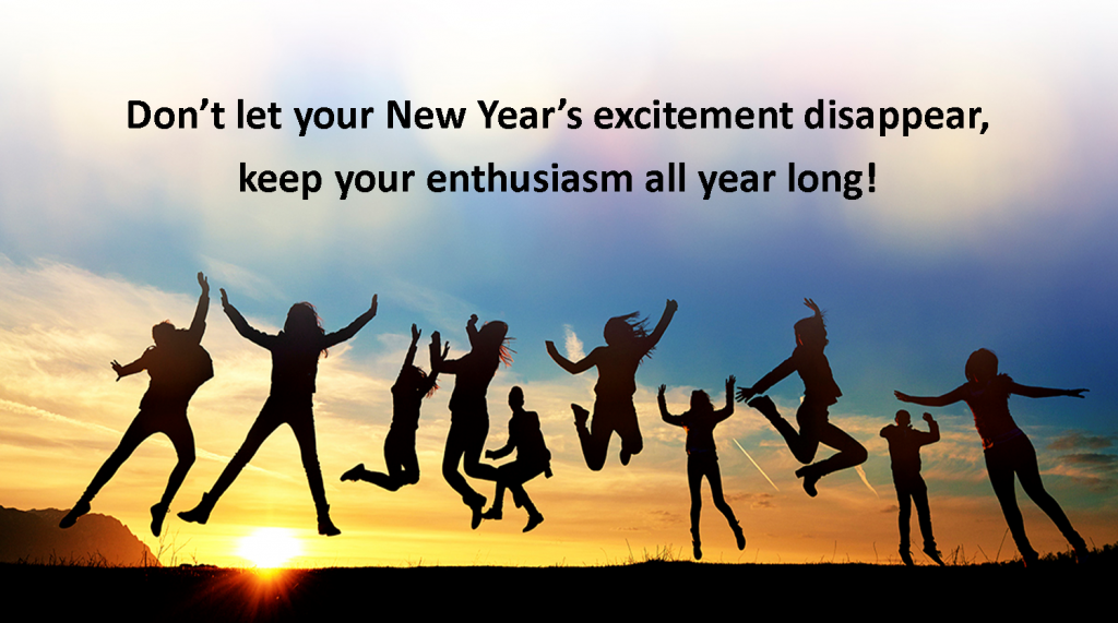 Keep Your Passion & Optimism for 2017 Alive