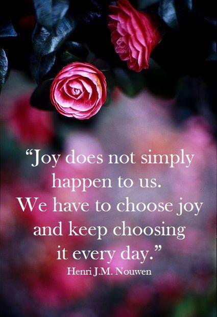 Secret of Sustainable Joy: Part 1